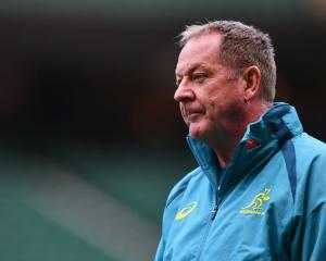 Wallabies skills coach Mick Byrne. Photo: Getty