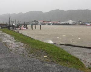 Ex-tropical cyclone Gita battered the West Coast. Photo: ODT files