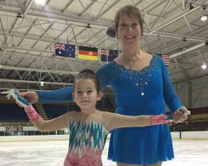Matilda Phillips and Sue Hoseit  both competed for the Dunedin Ice Skating Club in the South...
