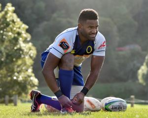 Otago utility forward Joketani Koroi is looking forward to playing in the ``Game of Three Halves'...