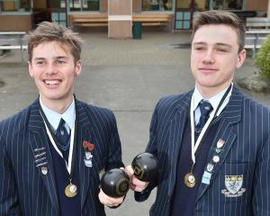 Beckham  Greenall and Jack Oaten with their national champion medals outside the main training...