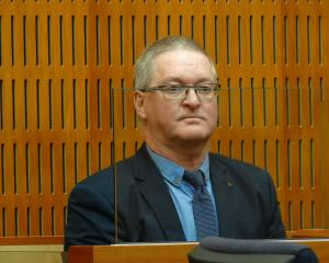 Former Oamaru doctor Stephen James Dawson awaits his sentencing at the Timaru District Court...