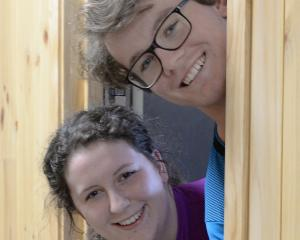 Students in the new Te Pa Tairua Otago Polytechnic Student Village, built made from sustainable...