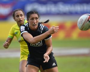 Black Ferns Sevens captain Sarah Goss. Photo: Getty Images
