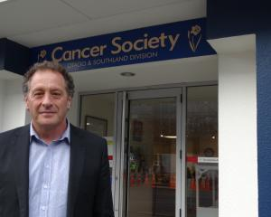 Cancer Society Otago-Southland acting chief executive Mark Hamer had the support of the society's...