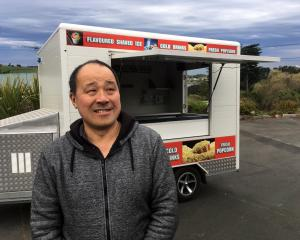 Dunedin Mobile Trading Association chairman James Chin is struggling to find a site in Dunedin to...