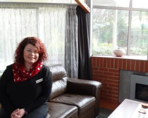 Otago Community Hospice occupational therapist Christina Bowen looks forward to welcoming...