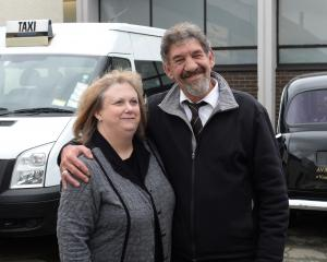 Anthony ''Starsky'' Ware and wife Janet, of Southern Taxis Dunedin, have bought City United Taxis...