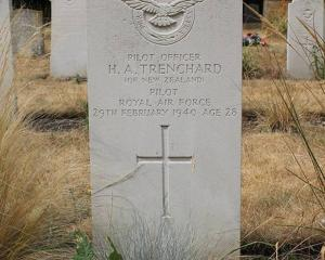 Horace Trenchard was buried in Cambridgeshire just a few days before what would been his 28th...