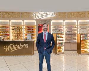 Matt Whittaker, the head of international markets at Whittaker's. Photo: Supplied via NZME