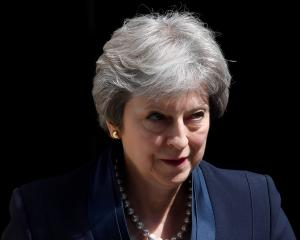 British PM Theresa May has laid out an ultimatum to her own party over Brexit. Photo: Reuters