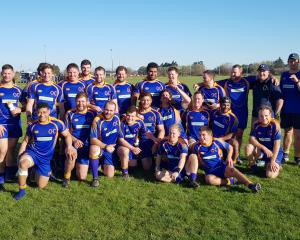 The Otago Country side which beat Canterbury Country at Rangiora on Saturday to win the tri...