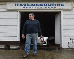 Ravensbourne Boating Club commodore Warwick Graham says the club has no choice but to use its...