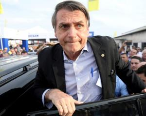 Presidential candidate Jair Bolsonaro. Photo: Reuters