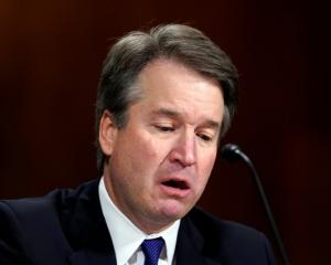 Supreme court nominee Brett Kavanaugh testifies before the Senate Judiciary Committee. Photo:...