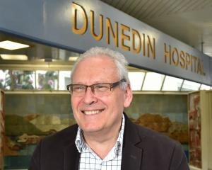 Outgoing Dunedin Hospital clinical leadership group chairman David Perez. PHOTO: GREGOR RICHARDSON