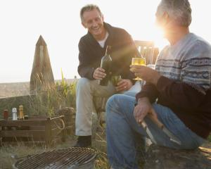 About half of older males and a quarter of older females were hazardous drinkers, the study found...