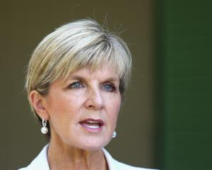 Julie Bishop. Photo: Getty