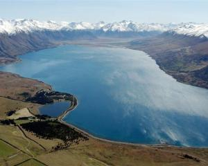 Lake Ohau, from which scientists hope to learn more about New Zealand's climate. Photo by Gerard...