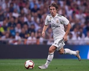 Luka Modric in action for Real Madrid. Photo: Getty Images