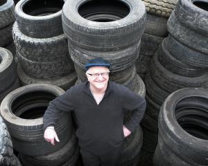 Balclutha inventor and systems analyst Dave Ward says existing solutions for tyre recycling are...