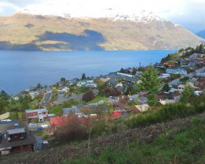 Home affordability in Queenstown (pictured yesterday) and Wanaka remains the worst in the country...