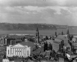 A very different looking Dunedin in days of yore - one of the images that will be discussed by...