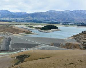 Opuha Dam. Photo: Supplied