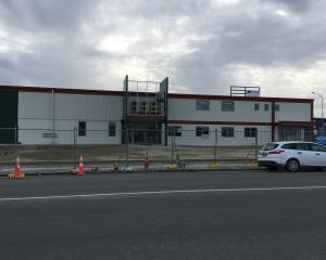 The new Farmlands building in Timaru set for completion in November. Photo: Chris Tobin