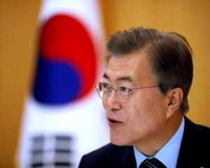 South Korean President Moon Jae-in. Photo: Reuters