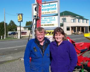 Thornbury Enterprises owners Iain and Nicky Bulling are ready for new ventures. Photo: Supplied