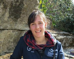 Lucie Grancher learned her woolhandling skills while working in New Zealand and is encouraging...