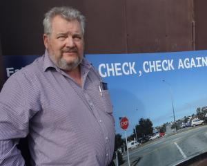 ''The roads are not a safe place where you can relax,'' Timaru District Council road safety co...