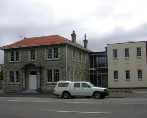The Oamaru police station. Photo by ODT.