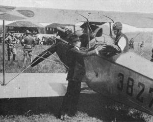 America's first airmail service from Washington to Philadelphia and New York. Lieut. Tarey Webb...