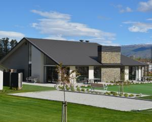 The lodge at Cromwell's Golden View Lifestyle Village. The official opening of the complex was...