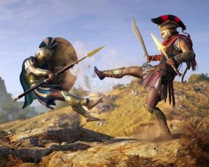 'Odyssey' incorporates gameplay options usually reserved for role-playing games: dialogue options...