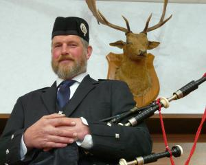 Balclutha Pipe Band pipe major Malcolm Wilson is proud to lead the corps to next year's national...