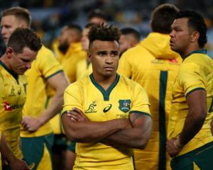 Will Genia and Wallabies teammates react after losing to the All Blacks in their Bledisloe Cup...