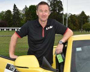 Kiwi motorsport great Greg Murphy was his usual collected self before embarking on a section of...