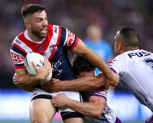 James Tedesco is one of four debutants named to start for Australia against the Kiwis on Saturday...
