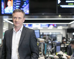 TVNZ chief executive Kevin Kenrick. Photo: NZ Herald