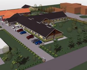 Concept drawings for the $5 million Maniototo health facility development in Ranfurly, which will...