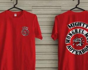 Members of the public are being warned not to buy knock-off Mongrel Mob clothing that is...