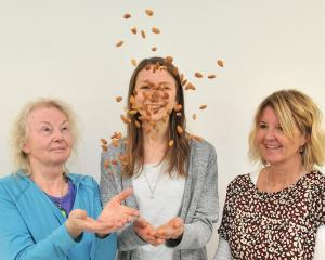 Researchers (from left) Alexandra Chisholm, Lara Ware and Rachel Brown are urging people to start...