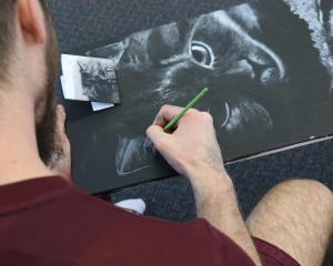 Offenders at Otago Corrections Facility are creating artworks to be sold in the Dunedin Art Show...