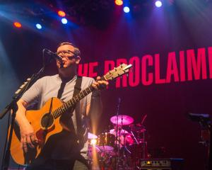 Charlie Reid of The Proclaimers performs at O2 Shepherd's Bush Empire on November 5, 2015 in...