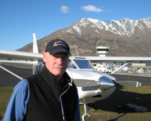 Glenorchy Air chief pilot Robert Rutherford in 2008. Photo: ODT files