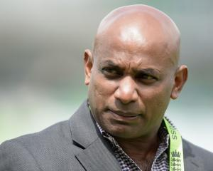 Sanath Jayasuria. Photo: Getty Images
