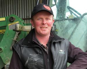 Shane Griffin is the Southern Dairy Hub's new farm manager. Photo: Yvonne O'Hara